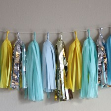 Tassel Garland- Poolside Sunshine