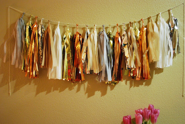 Sam Party Tassel Garland