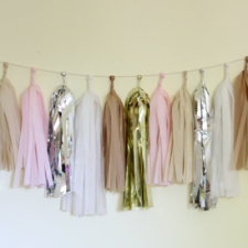 Tassel Garland- Blushing in the Nude