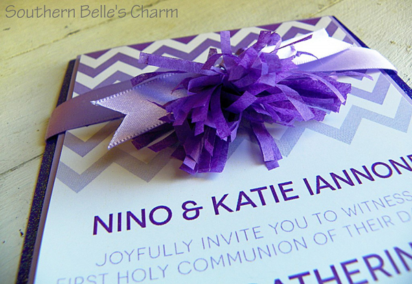 Chevron-Ombre-Communion-Invitation