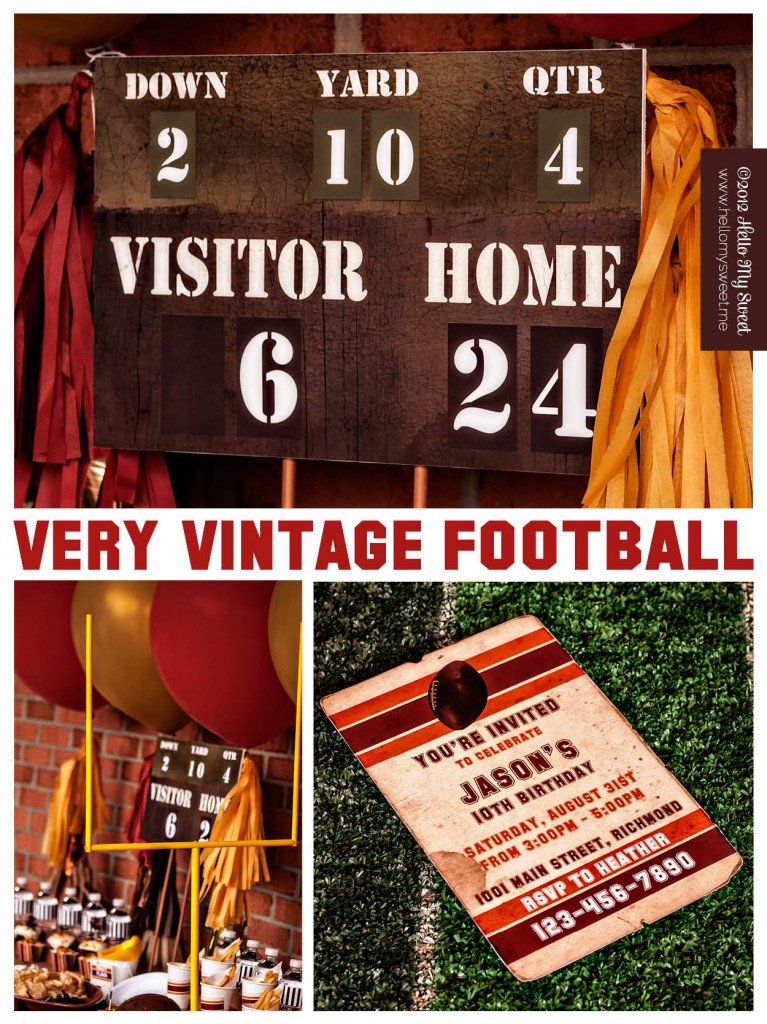 vintage-football-party