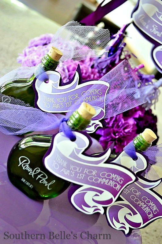 Olive Oil and Favor Tags