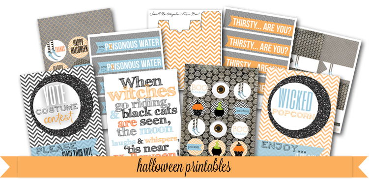 Free Halloween printables