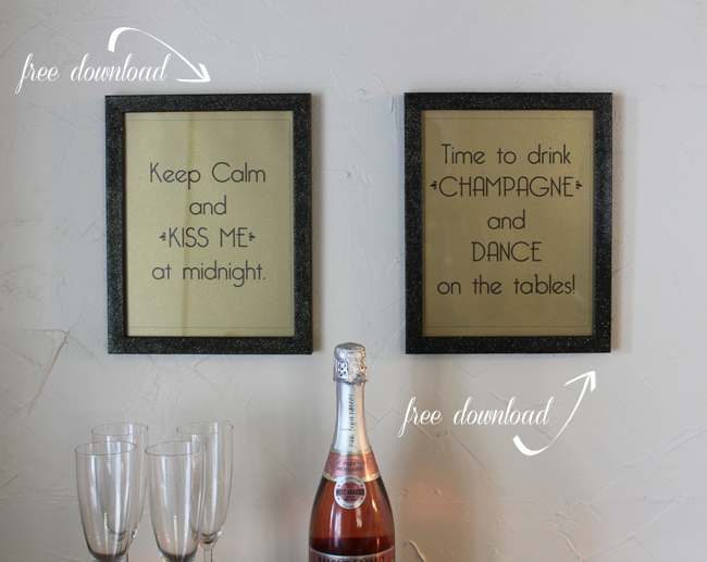 New Year's Eve Free Printable