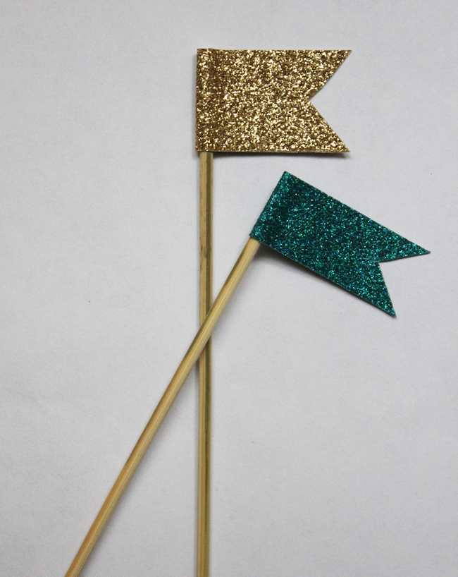 glitter cocktail swizzle sticks