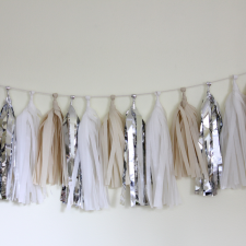 Tassel Garland – Wedding White
