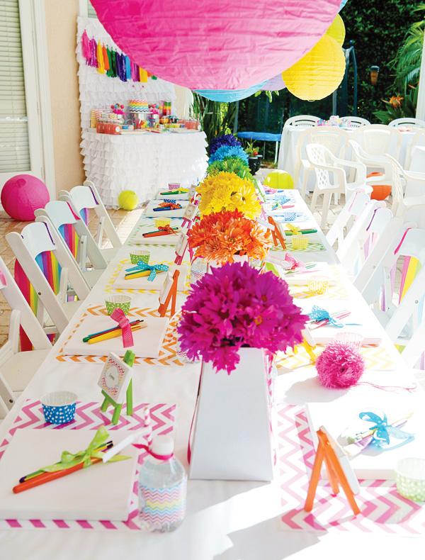 chevron-rainbow-art-party-tablescape