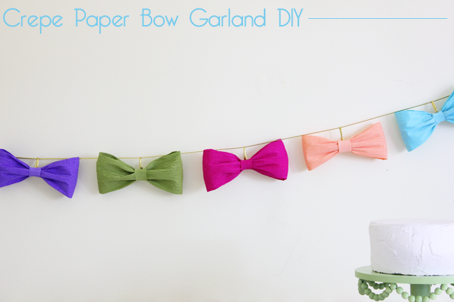 Bow garland handmade decor the flair exchangethe flair exchange pronofoot35fo Choice Image