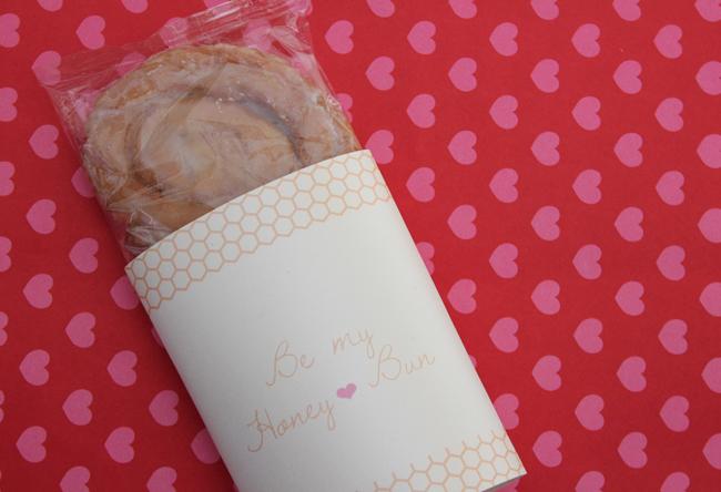 Free Valentine Printables Be My Honey Bun Handmade