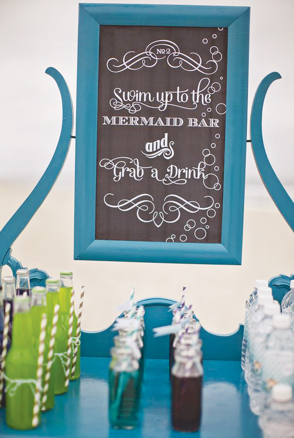 ombre-mermaid-drink-station