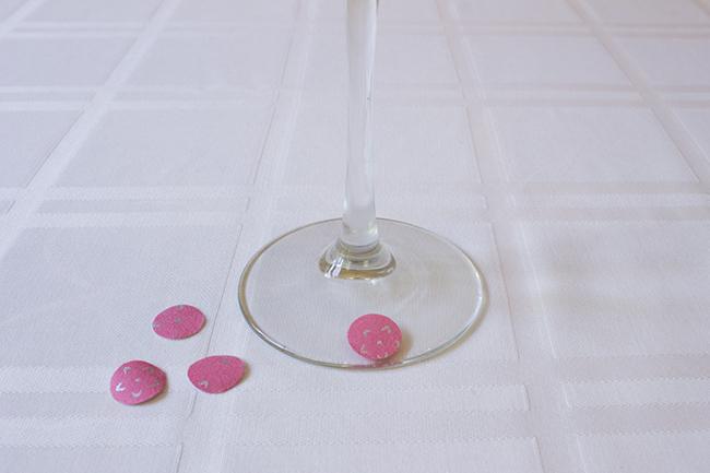 DIY Polka Dot Martini Glasses 5