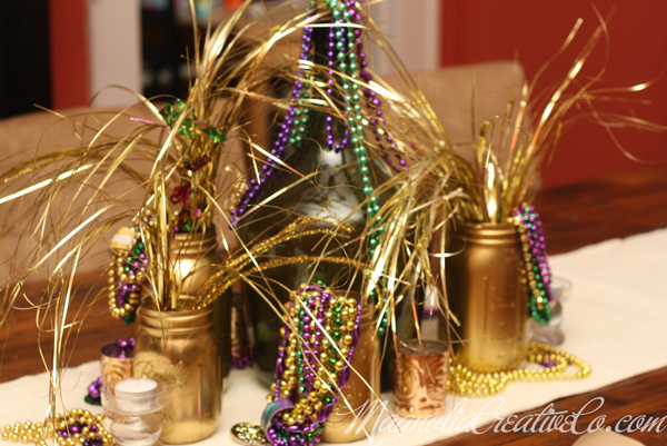 MagnoliaCreative-Mardi Gras-Centerpiece