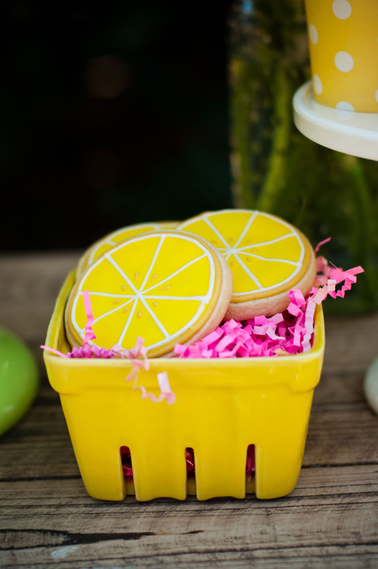 Customer Party Lemonade Dessert Table The Flair Exchange
