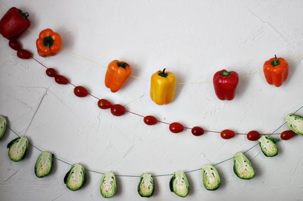 Guirnalda de verduras