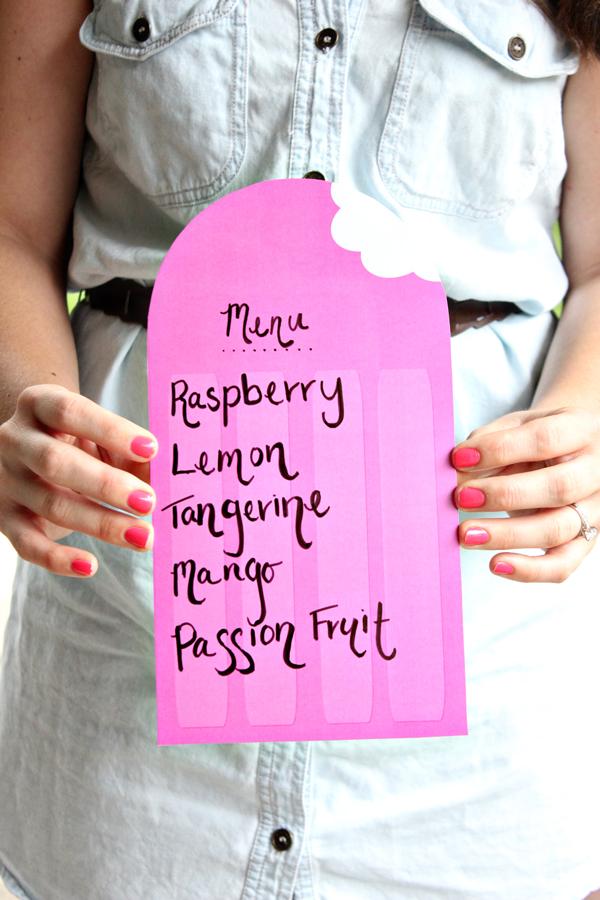 Popsicle Garland Diy Free Printable 3 Ways The Flair
