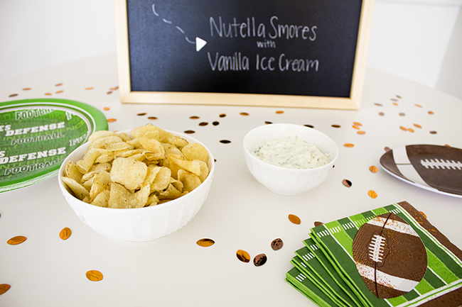 Football Game Day Menu DIY 6