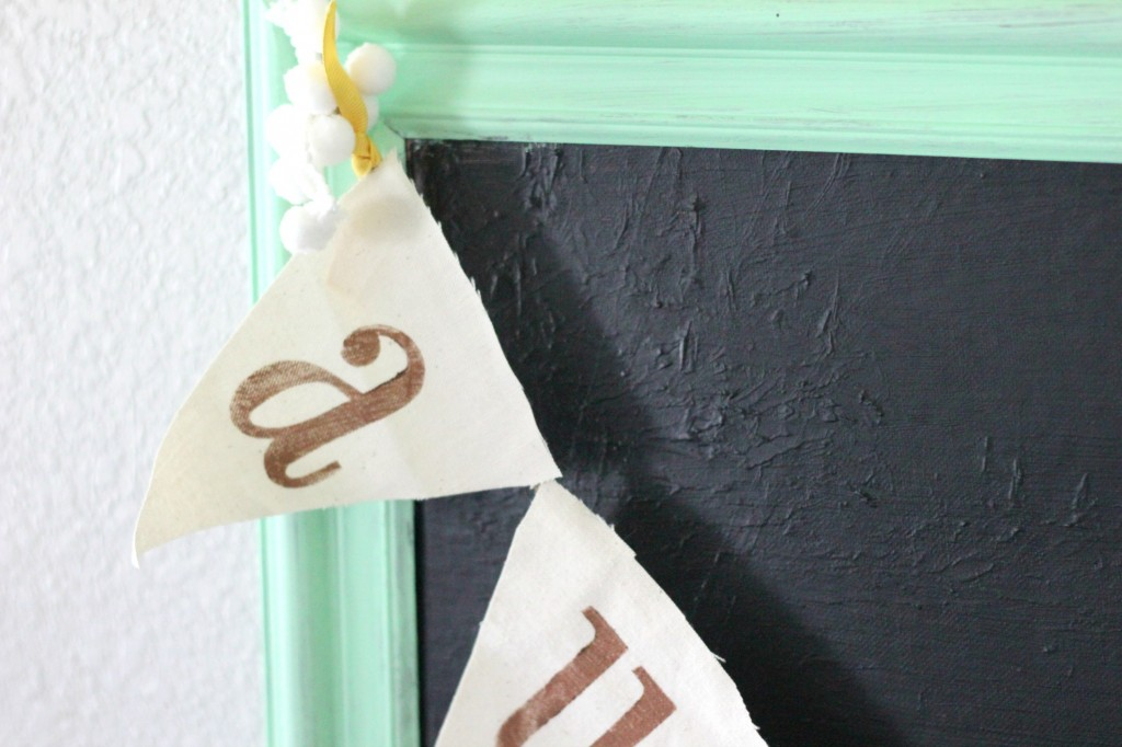 DIY: No Sew Autumn Garland