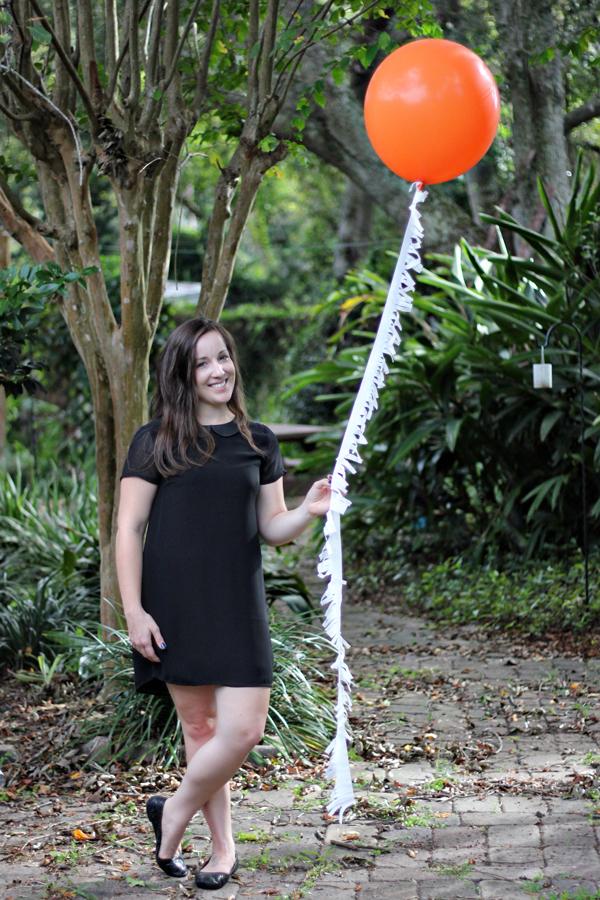 Balloon Fringe DIY