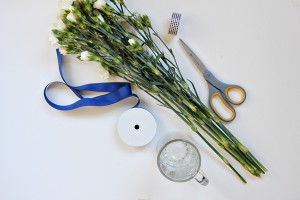 mini floral bouquet DIY