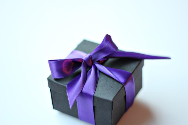 Minature Confetti Box