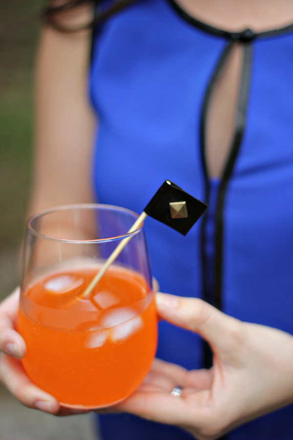 Leather Studded Drink Stirrers