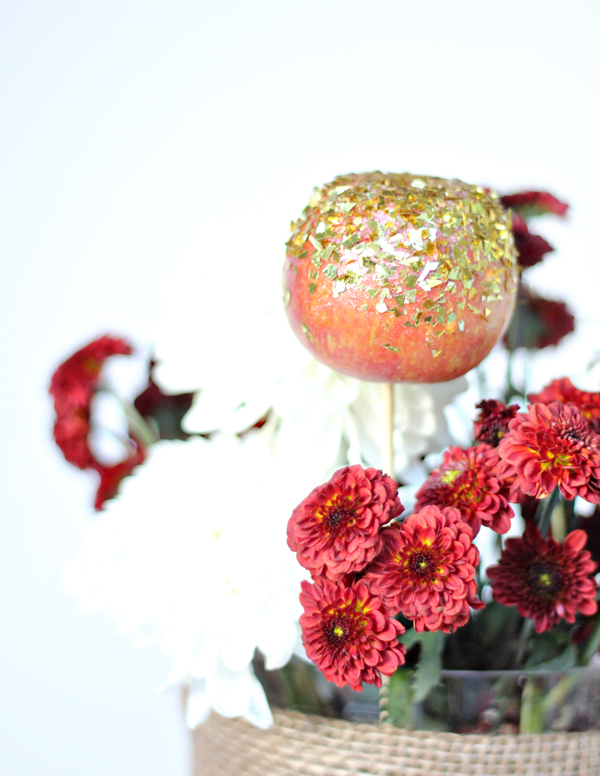 Gilded Apple Floral Arrangement