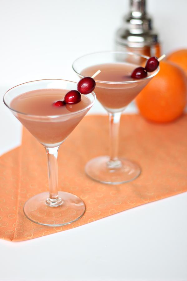 Cranberry Orange Martini Recipe