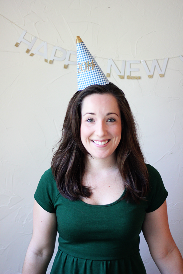 Free Printable NYE Party Hats