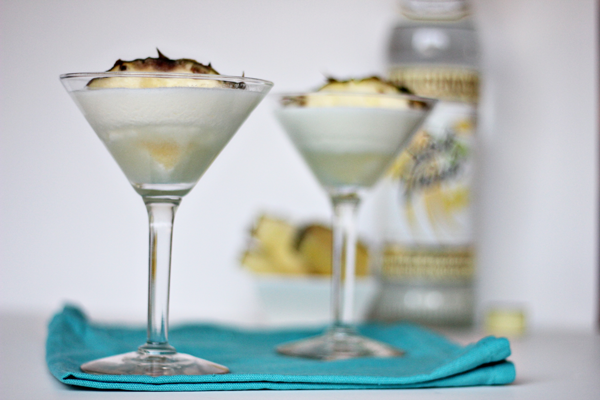 Pineapple Cake Martini Recipe