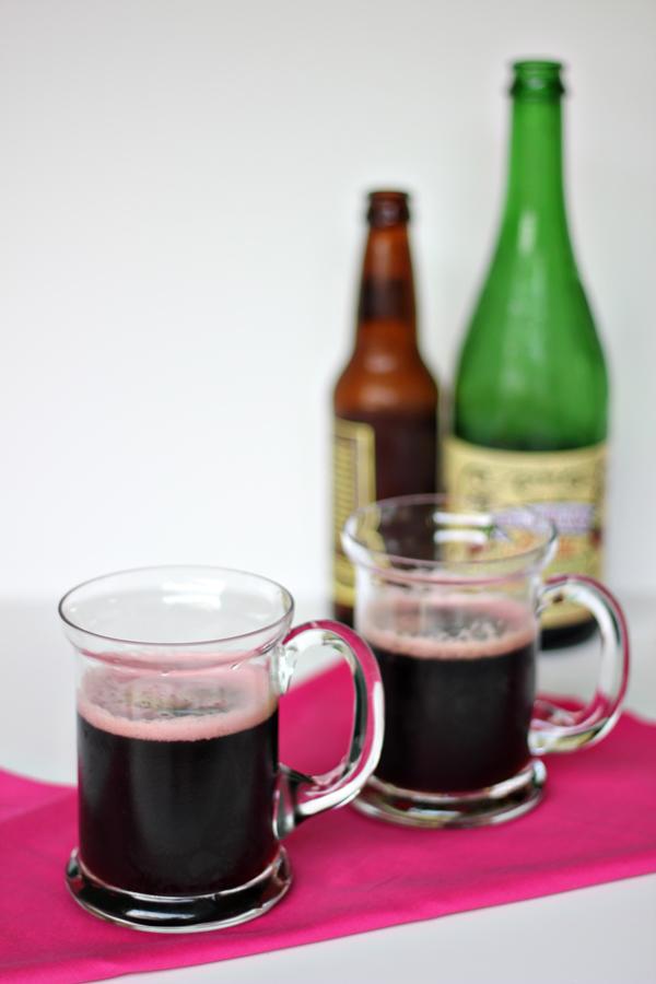 Chocolate Raspberry Beer Cocktail