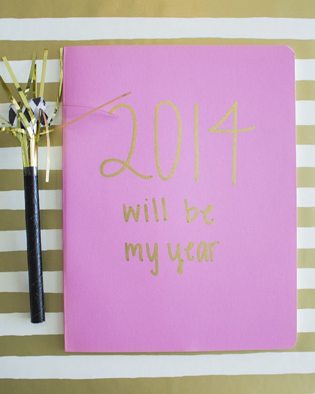 2014 Goal Setting Journal | The Flair Exchange 4