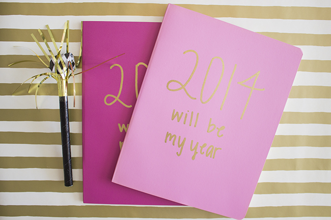 2014 Goal Setting Journal | The Flair Exchange