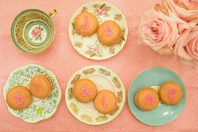 Je T'aime Valentine's Day Macarons DIY