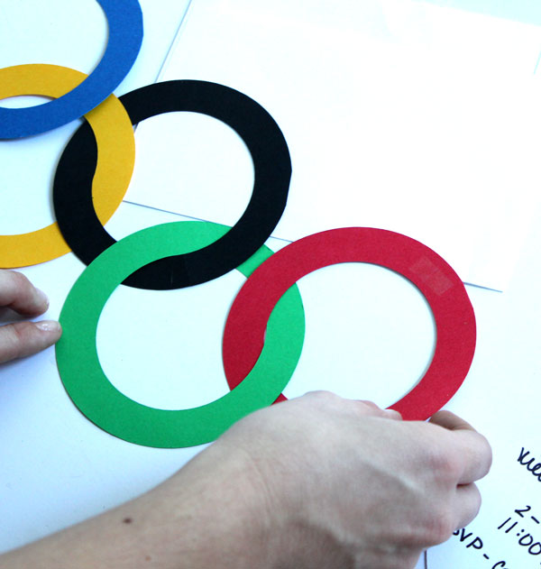 Olympic Viewing Party Invite DIY
