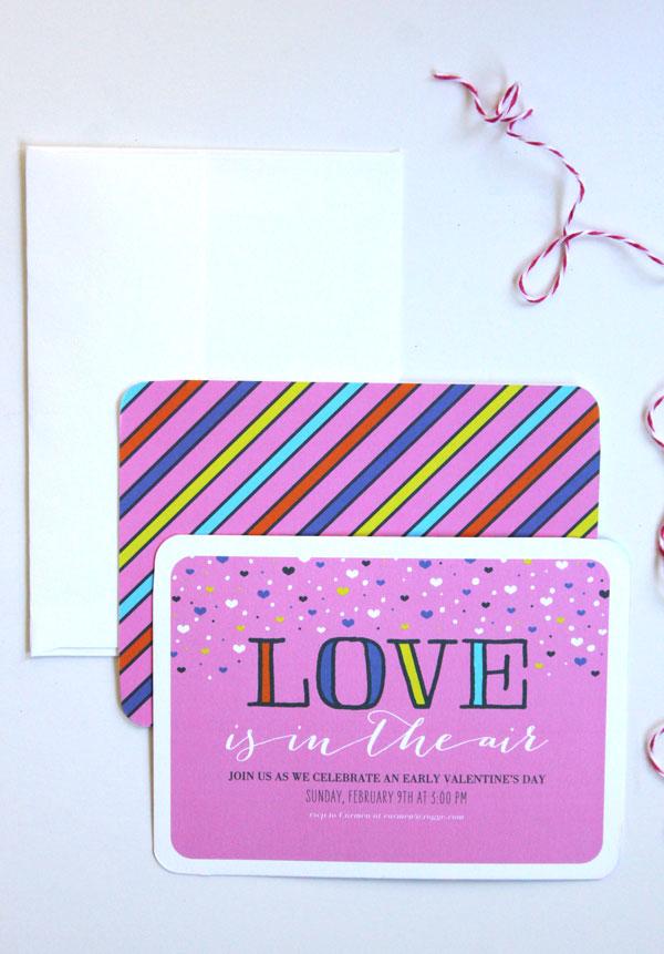 DIY Valentine's Washi Tape Garland