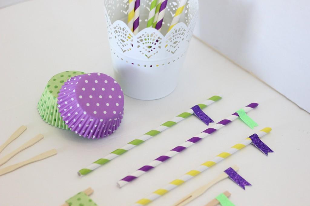 Cupcake Topper Embellishment Ideas