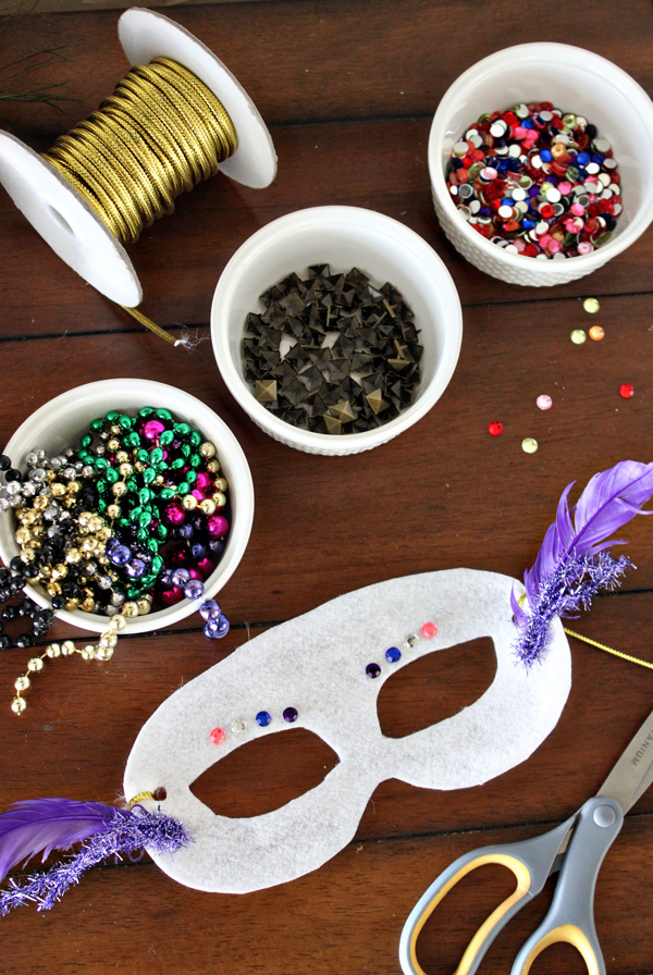 How To Make Your Mardi Gras Party Rock With A DIY Mask Bar The Cool How To Decorate A Mask