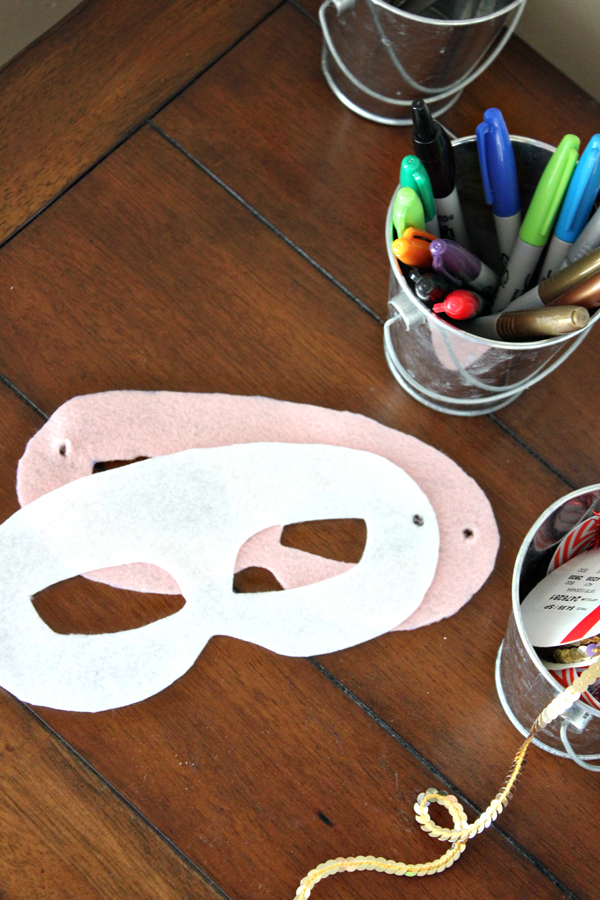 how to make your mardi gras party rock with a diy mask bar