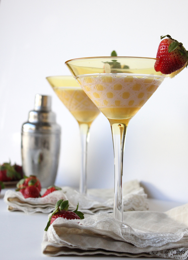 Strawberry Shortcake Martini Recipe The Flair Exchange