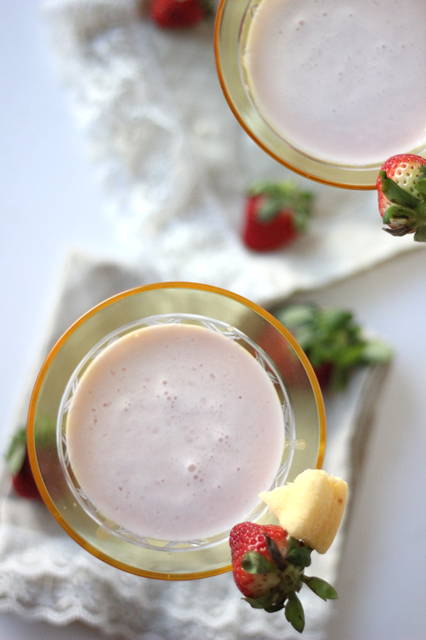 Strawberry Shortcake Martini Recipe