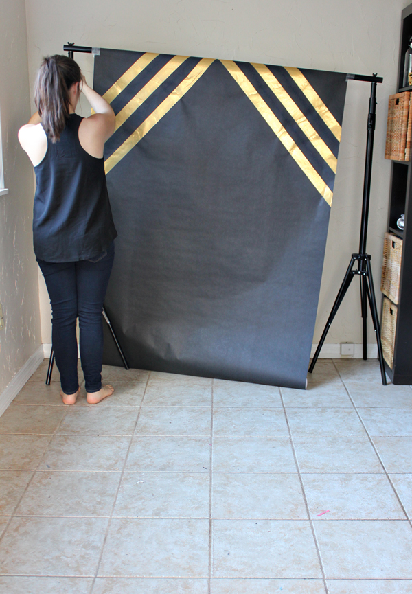 How To Make A Graduation Photo Booth Backdrop The Flair