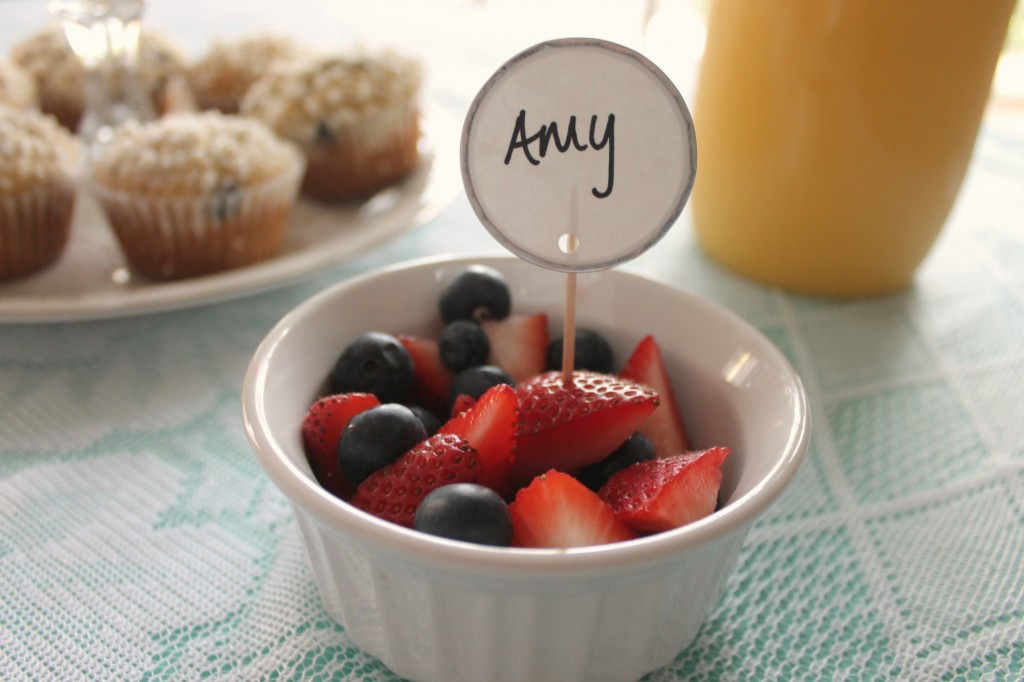 Brunch Place Setting DIY
