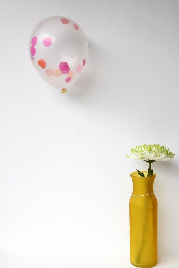 DIY Mini Confetti Filled Balloons