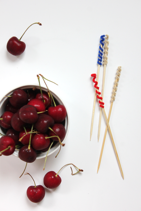 Patriotic Swizzle Sticks