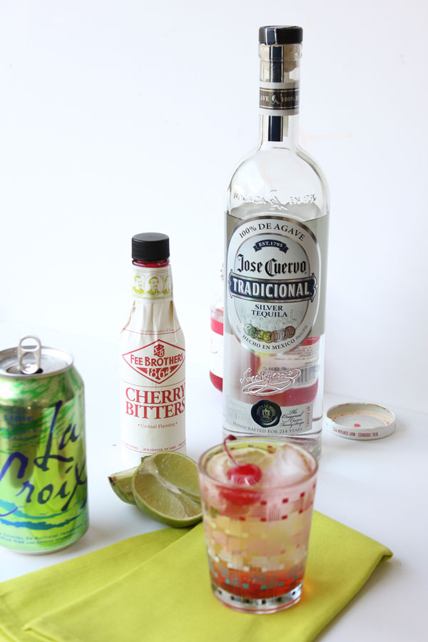 Spiked Cherry Limeade Cocktail Recipe