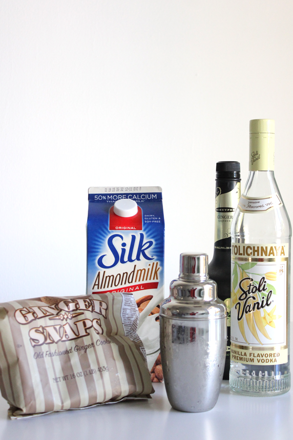 Gingerbread Martini Ingredients