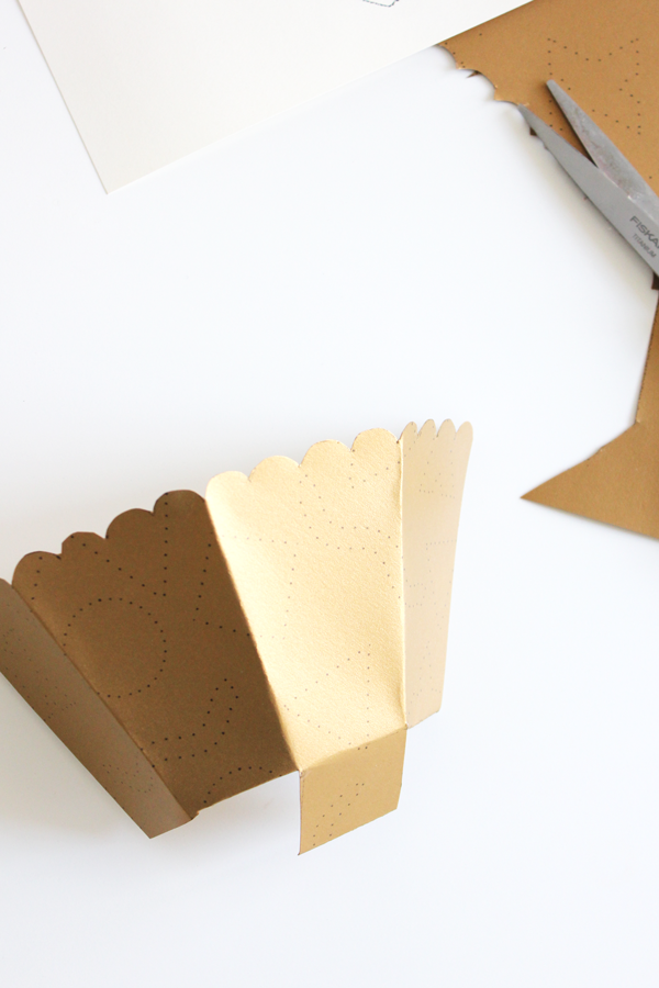 Free Popcorn Box Printable And Diy The Flair Exchange