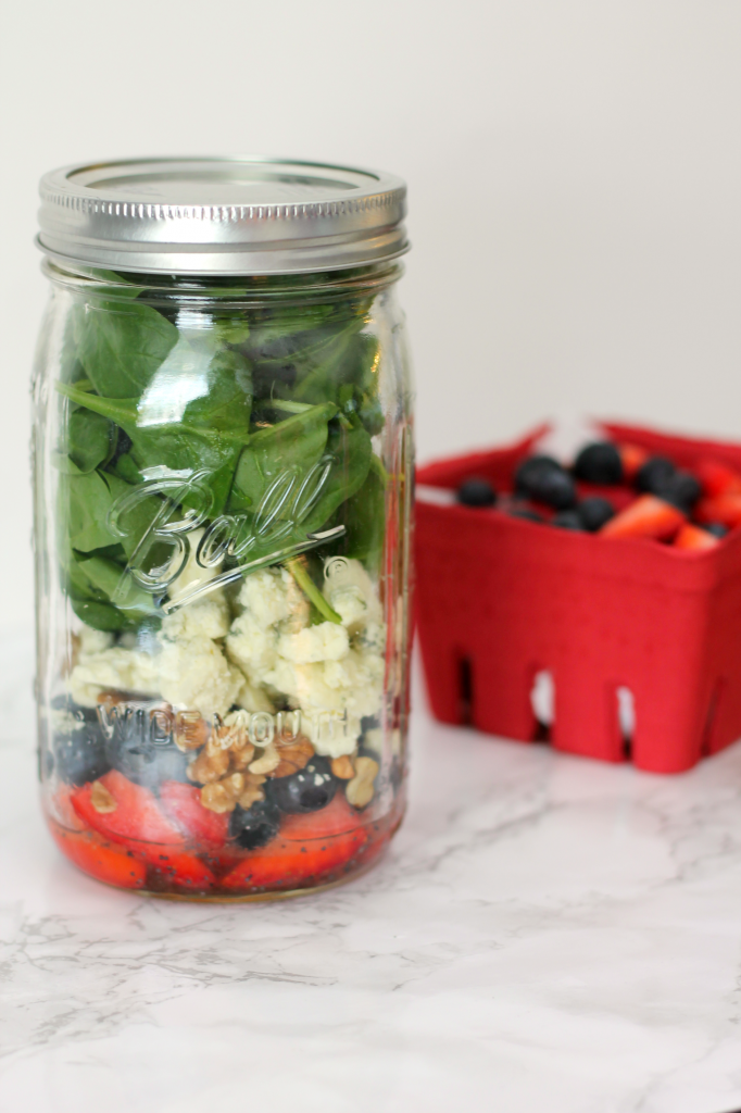 Berry Salad Jar