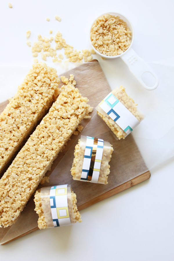 Salted Caramel Krispie Treat