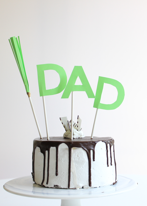 Father'sDayCakeandToppper